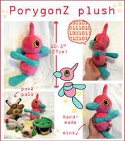 PorygonZ Pokedoll plush by scilk