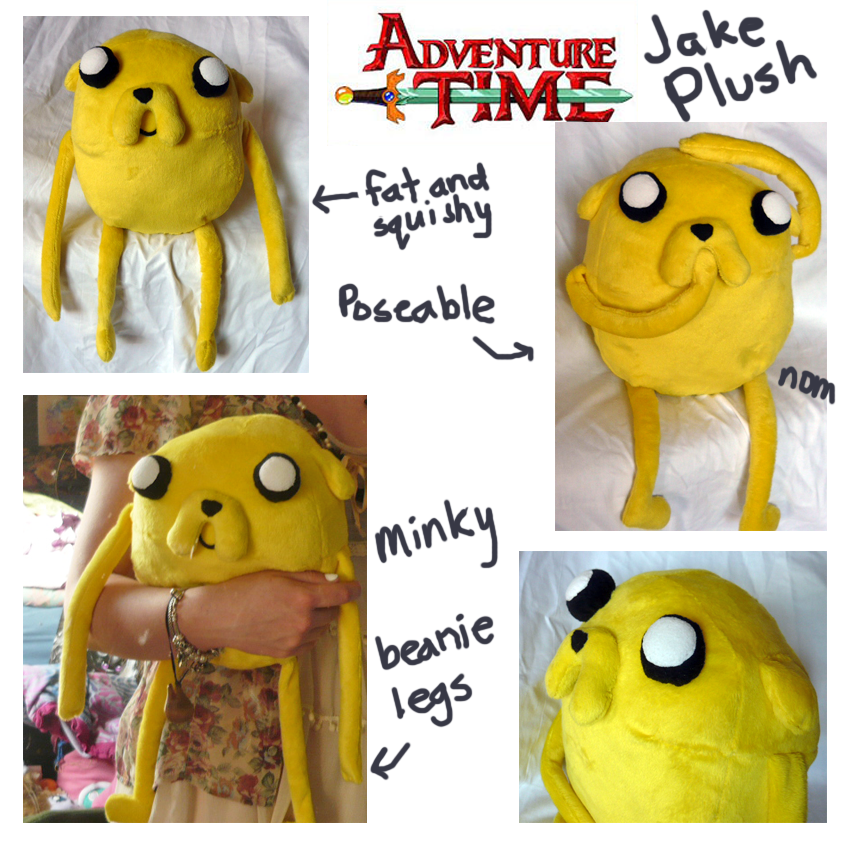 Adventure Time Jake the Dog Plush