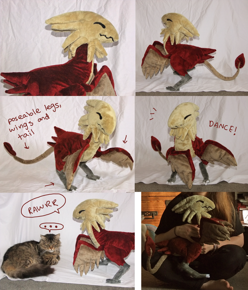 Archaeopteryx Plush by SilkenCat