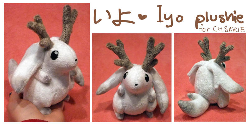 Iyo OC plush for CH3RRIE by scilk