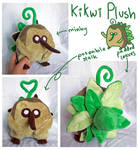 Kikwi plush for Lyndsaygorawr!
