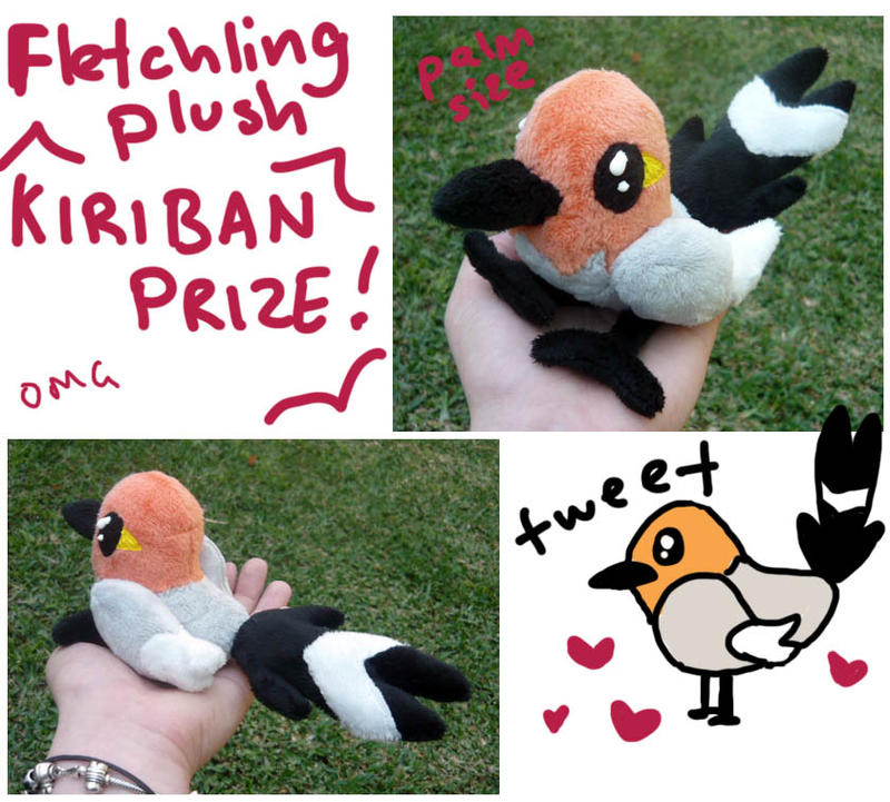 Fletchling Plush by scilk