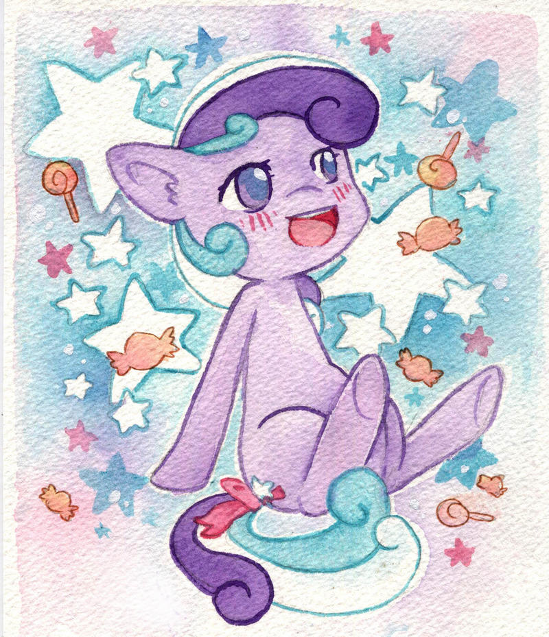 Starberry Swirl loves candy by scilk