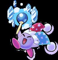 Mirror Kirby by scilk