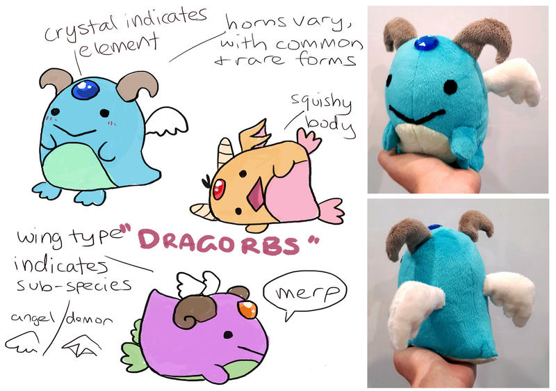Dragorb species prototype design by scilk