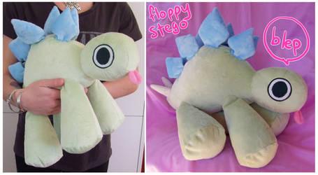 floppy stego plush by scilk