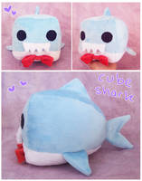 Cube shark for sale plus tutorial! by scilk