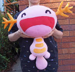 Shiny Wooper plush
