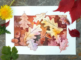 Leaves 1- oak by scilk