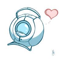Wheatley: Portal 2 by LittleMeesh