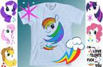 My Little Pony: T-shirt Designs