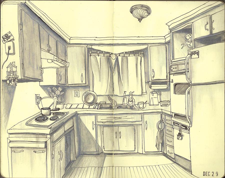 Momma\'s Kitchen by jasminenora on DeviantArt