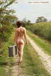 walking away by Ijadelmar