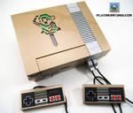 Backlit Legend of Zelda NES