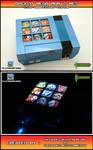 Backlit Mega Man 2 NES - 25th Anniversary Edition