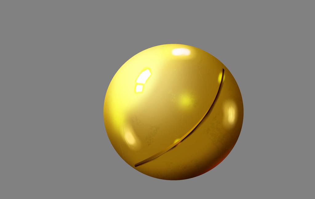 Digital Paint Metal Brass Tutorial
