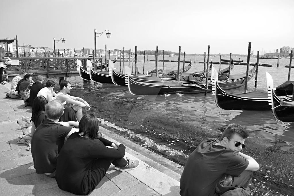 Gondolas by Jarmilpet