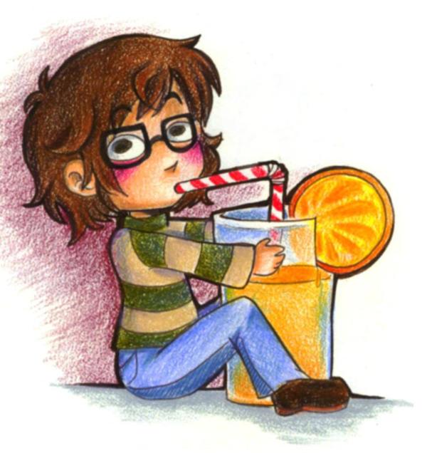 I liek orange juice by SirPrinceCharming