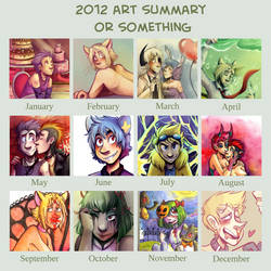 ART SUMMARY 2012 by SirPrinceCharming