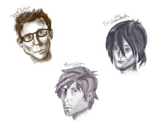 Marauders Character Art by thelittlestlady