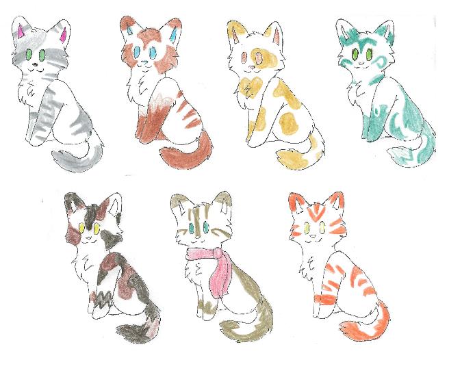 Free Kittens (READ DESC.) CLOSED by Wickaii