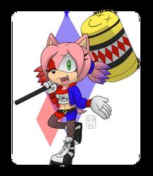 Sonic's Little Monster by AmatsuCat