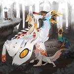 [Plumeria] Battle of Three Clans - Moon Stones