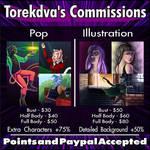 Commission Sheet by Torekdva