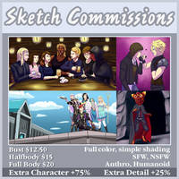 Sketch Commission Sheet by Torekdva
