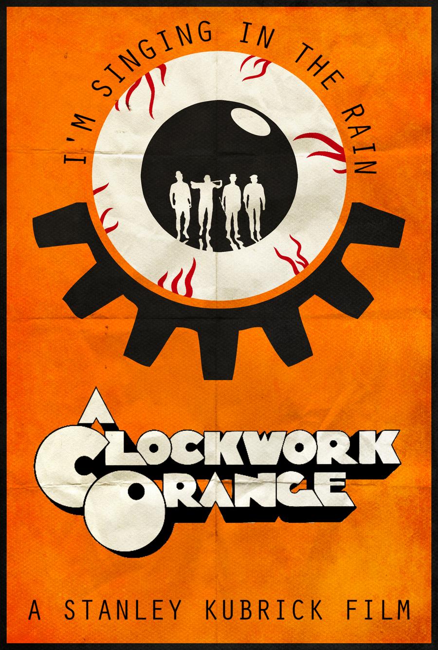 A Clockwork Orange - Alt. Minimalist Poster by ...