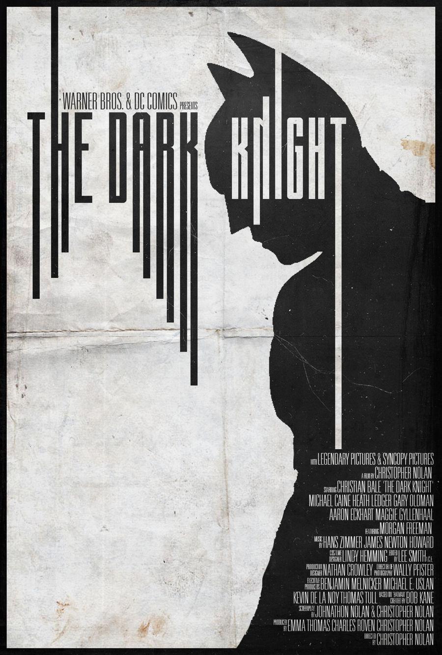 The Dark Knight - Alt. Minimalist Poster