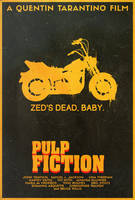 Pulp Fiction - Alt. Poster by edwardjmoran