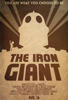 The Iron Giant - Alt. Minimalist Poster by edwardjmoran