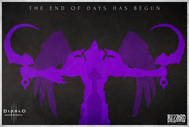 Diablo 3 Reaper of Souls Contest Entry - Malthael by edwardjmoran