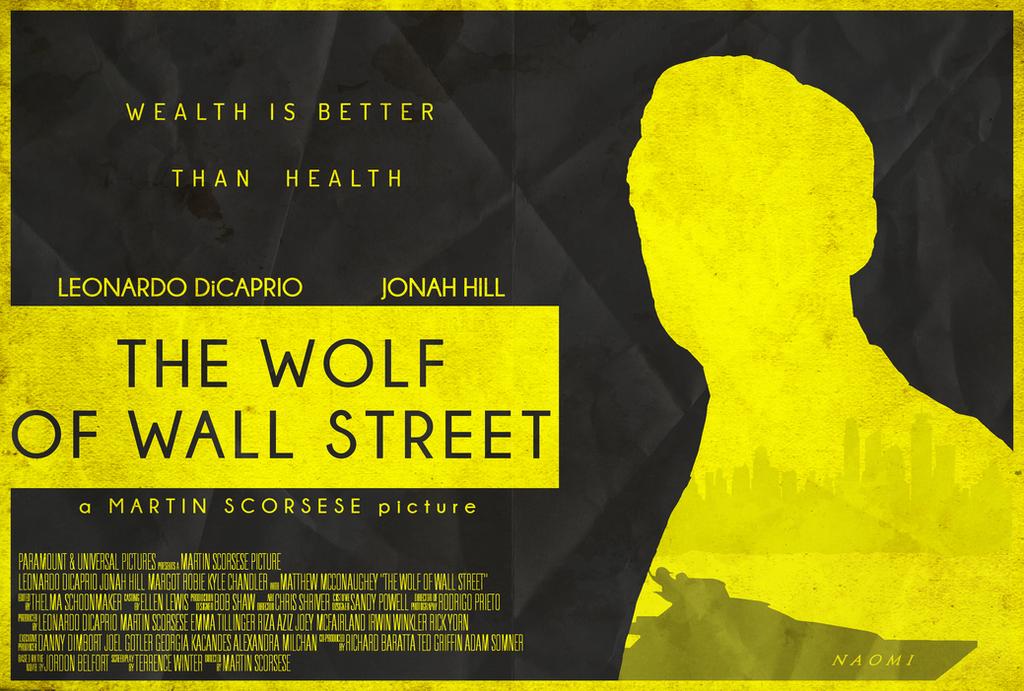 The Wolf of Wall Street - Minimalist Poster by edwardjmoran on ...