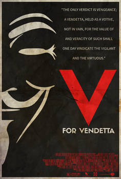 They Should Be Afraid - V for Vendetta Poster