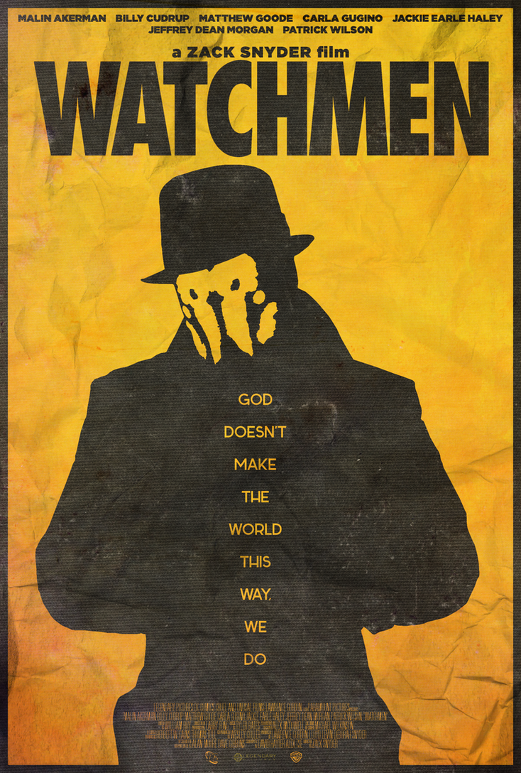 You Don't Seem to Understand - Watchmen Poster by edwardjmoran