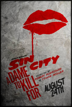 The Dame - Sin City: A Dame to Kill For Poster