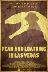Bat Country - Fear and Loathing in Vegas Poster by edwardjmoran