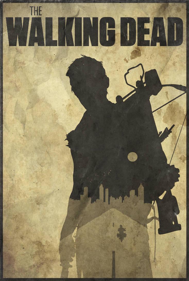 You Best Pray I'm Dead - The Walking Dead Poster by edwardjmoran
