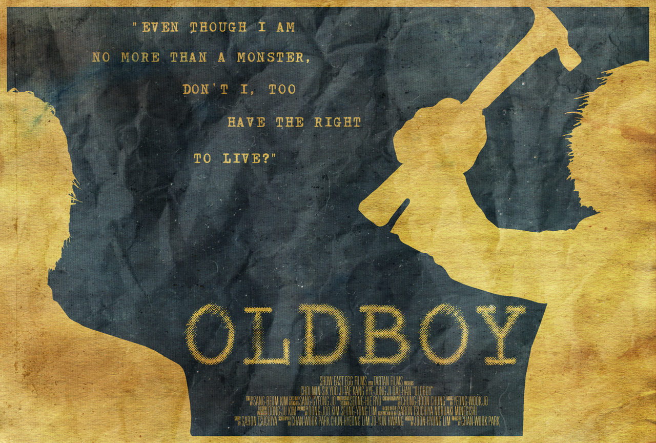 Oldboy Poster By Edwardjmoran On DeviantArt