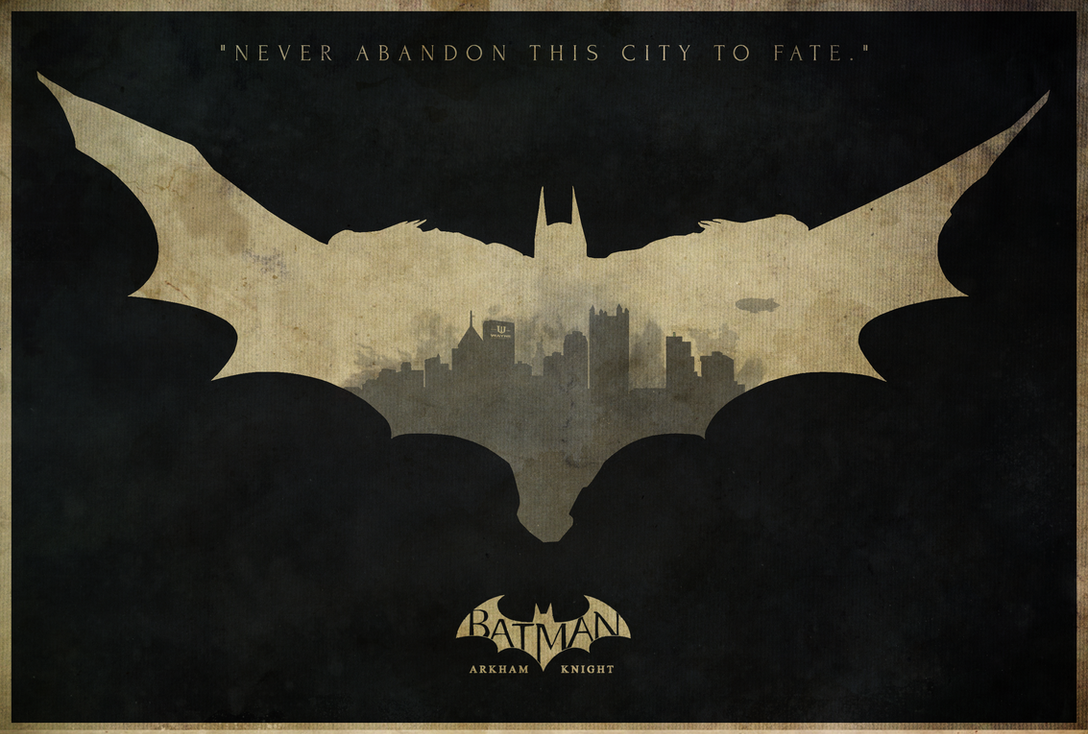 Father to Son - Batman: Arkham Knight Poster by disgorgeapocalypse