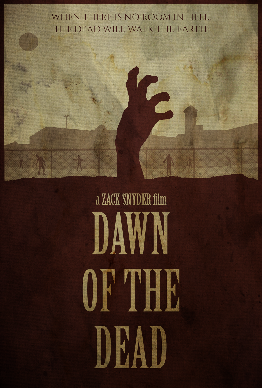Rosie - Dawn of the Dead (2004) Poster by edwardjmoran on ...