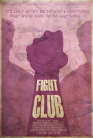 Rule #1 - Fight Club Poster by edwardjmoran