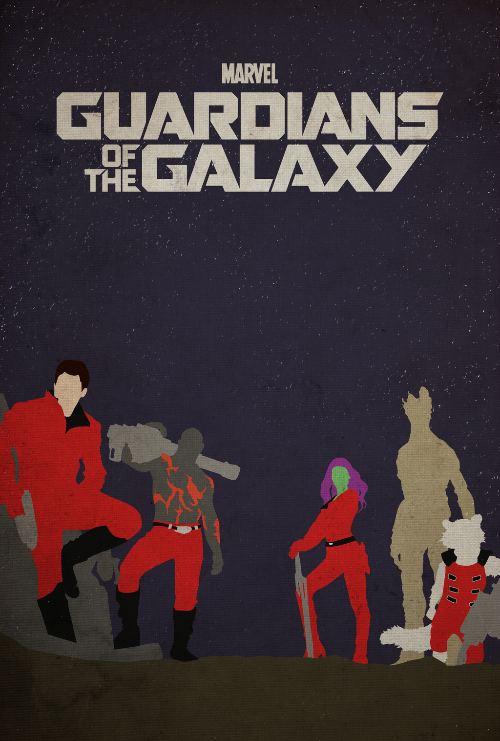 Guardians of the Galaxy - Poster by edwardjmoran