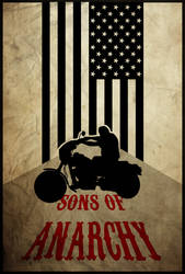 For the Club - Sons of Anarchy Poster by edwardjmoran
