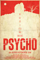 Madness - Psycho Poster
