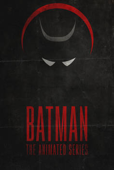 I am the Night - Batman: Animated Series Poster