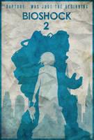Subject Delta - Bioshock 2 Poster by edwardjmoran