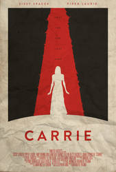 Ask for Forgiveness - Carrie Poster by edwardjmoran